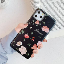 Retro Flower Case - Jelly Cases