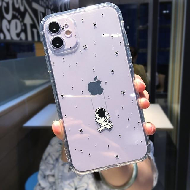 Shockproof Astronaut Case - Jelly Cases