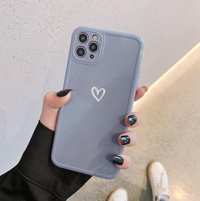 Shockproof Candy Heart Case - Jelly Cases