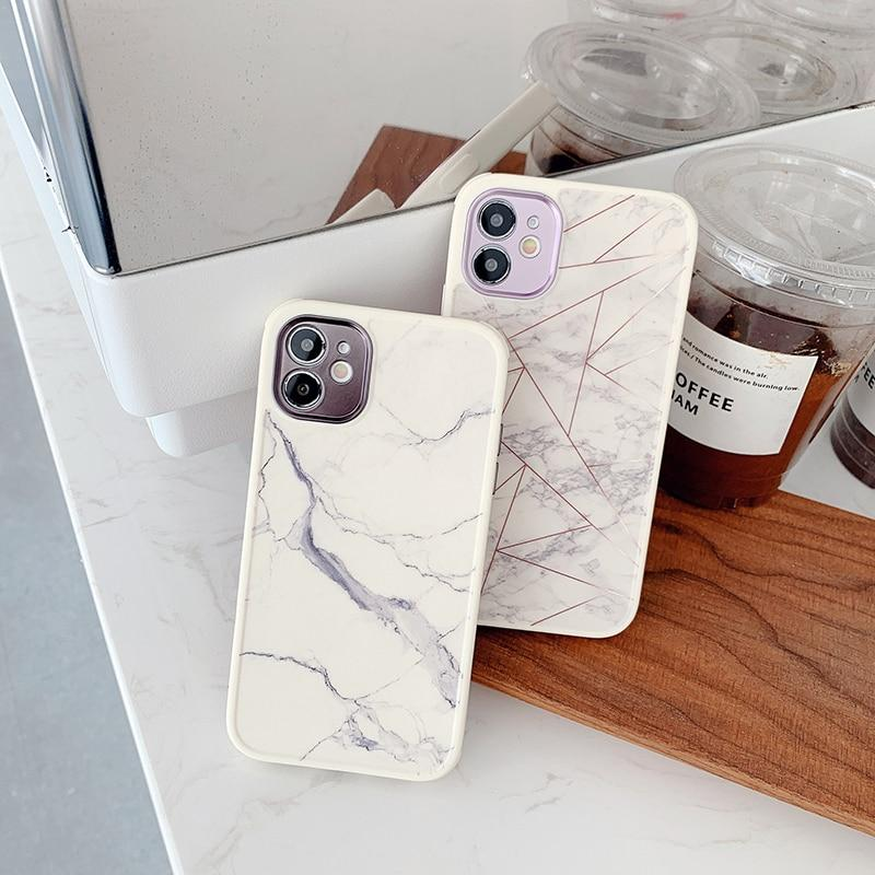 Shockproof Vintage Marble Case - Jelly Cases