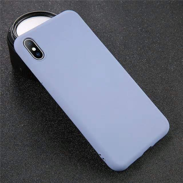 Silicone Solid Color Case Jelly Cases