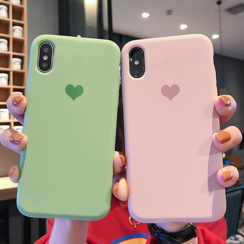 Simple Solid Color Case - Jelly Cases