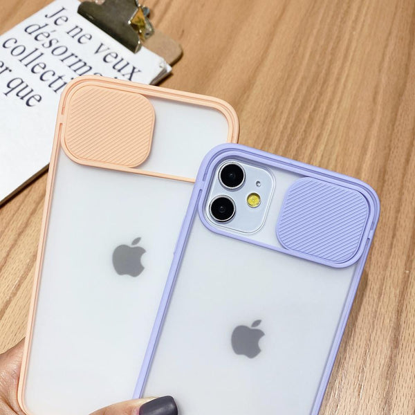 Slider Camera Protection Color Case - Jelly Cases