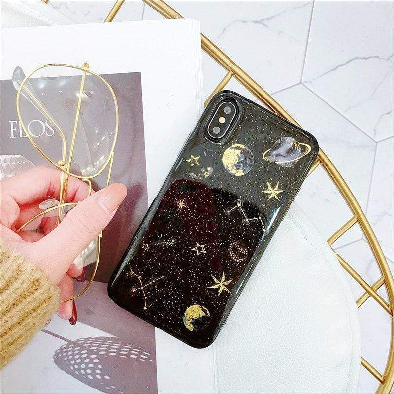 Stars And Planets Case - Jelly Cases