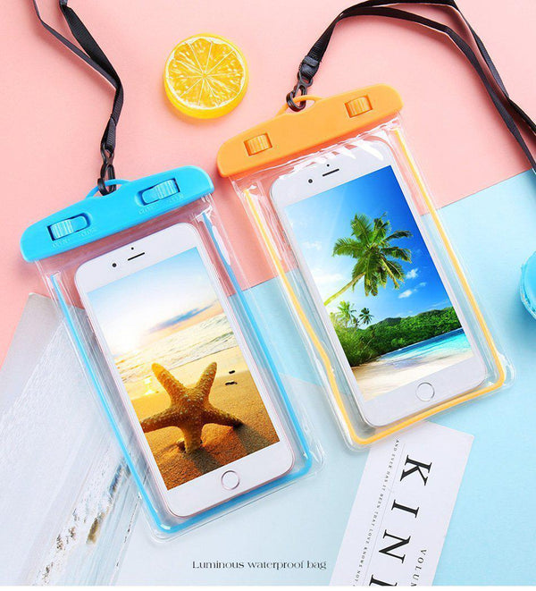 Universal Waterproof Phone Pouch Bag - Jelly Cases