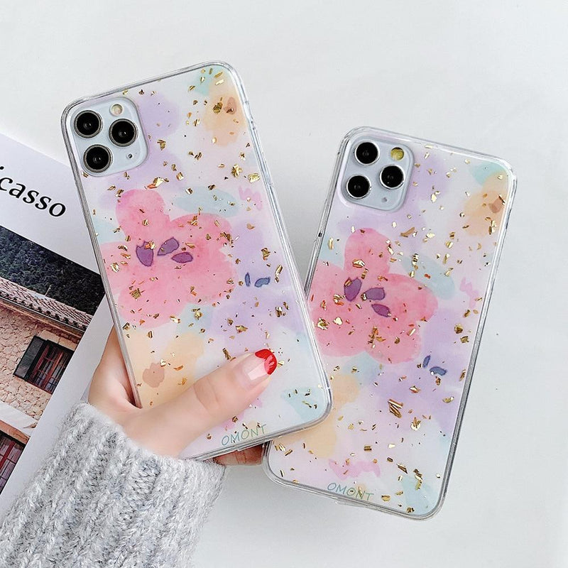 Watercolor Flower Case - Jelly Cases