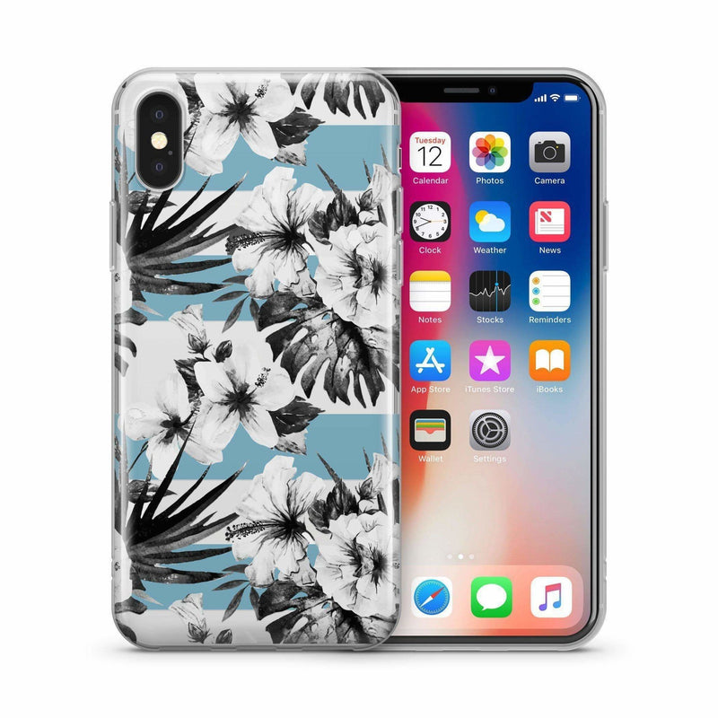 White Florals - Jelly Cases