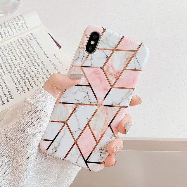 White Marble Case - Jelly Cases