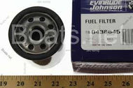 438645, 0438645 Evinrude /Johnson/OMC/BRP OEM Fuel/Gas Filter Direct Injection Canister