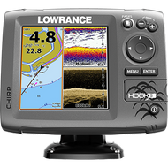 Hook 7 GPS & Sounder all in one mid/high downscan