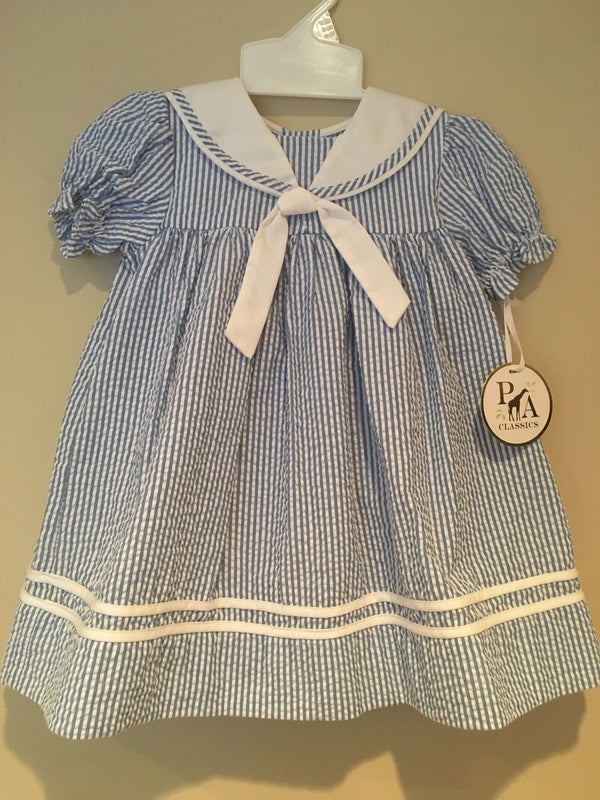Classic Sailor Dress and Bloomer
