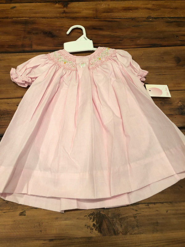 Petit Ami Smocked Bunny Dress
