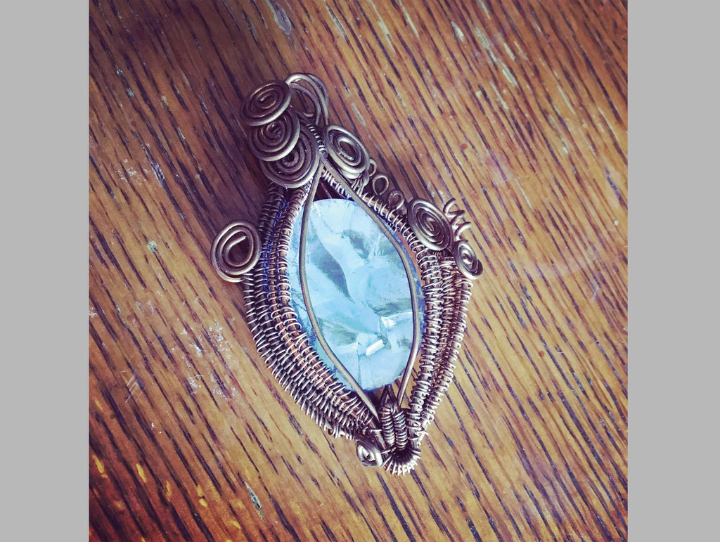 Ice Blue Pendant