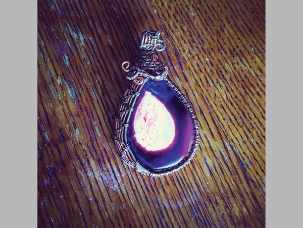 Purple Stone Wrap