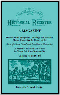 The Narragansett Historical Register, Volume 4