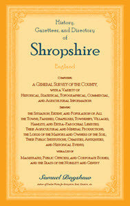 History, Gazetteer, and Directory of Shropshire, England