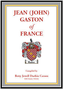 Jean (John) Gaston of France
