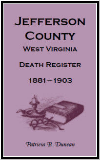 Jefferson County, West Virginia, Death Records, 1881-1903