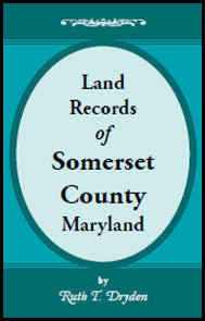 Land Records of Somerset County, Maryland