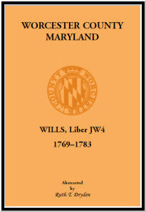 Worcester Will Books, Liber JW4. 1769-1783