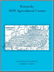 Kentucky 1850 Agricultural Census