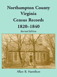 Northampton County, Virginia, Census Records, 1820–1840, Revised Edition