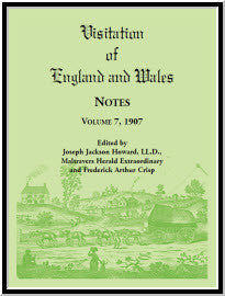 Visitation of England and Wales Notes : Volume 7, 1907