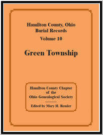 Hamilton County, Ohio, Burial Records, Volume 10: Green Township