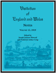 Visitation of England and Wales Notes : Volume 13, 1919