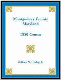 Montgomery County, Maryland, 1850 Census