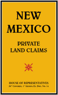 New Mexico-Private Land Claims