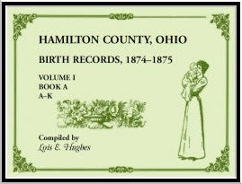 Hamilton County, Ohio Birth Records 1874-1875