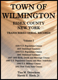 Town of Wilmington, Essex County, New York, Transcribed Serial Records, Volume 5