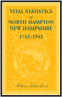 Vital Statistics of North Hampton, New Hampshire, 1742-1942