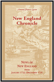 New England Chronicle News of New England from January 1722-December 1731