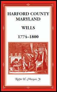 Harford County Wills 1774-1800
