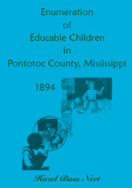 Enumeration of Educatable Children in Pontotoc County, Mississippi, 1894