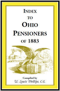 Index to Ohio Pensioners of 1883