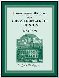 Jurisdictional Histories for Ohio's 88 Counties, 1788-1985