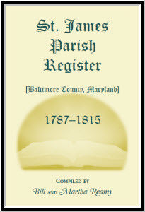 St. James Parish Registers 1787-1815