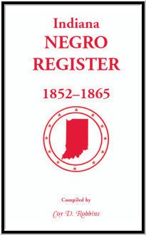 Indiana Black Register, 1852-1865
