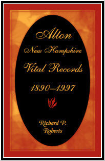 Alton, New Hampshire, Vital Records, 1890-1997