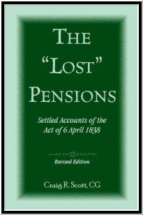 The 'Lost' Pensions: Settled Accounts of the Act of 6 April 1838, Revised Edition