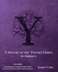 The History of the Youtsey Family in America Starting in 1744