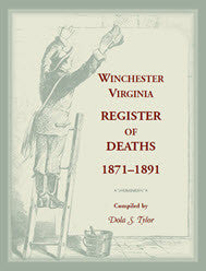 Winchester, Virginia, Register of Deaths, 1871-1891
