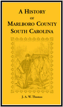 History of Marlboro County, South Carolina