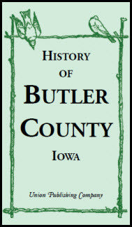History of Butler County, Iowa