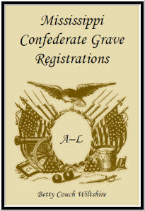Mississippi Confederate Grave Registrations, A-L