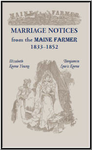 Marriage Notices from the Maine Farmer 1833