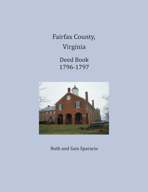 Fairfax County, Virginia Deed Book 1796-1797
